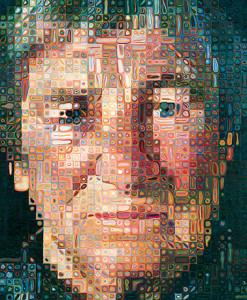 Chuck Close, Agnes 1998