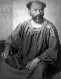Gustav Klimt porträtt