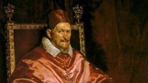 Velazquez Påven Innocent X 1649