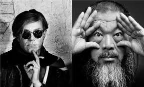 Andy Warhol och Ai WeiWei